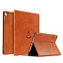billige Tote-vesker-Etui Til Apple iPad Air / iPad 4/3/2 / iPad Mini 3/2/1 Støtsikker / Støvtett / Ultratynn Heldekkende etui Ord / setning PU Leather / TPU