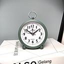 Χαμηλού Κόστους Ρολόγια Τοίχου-ξυπνητήρι αναλογικό - ψηφιακό ανοξείδωτο χάλυβα αυτόματο 1 τεμ