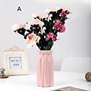 billige Vaser & Kurv-1 stk vase europeisk stil pe plastvase bærbar husholdning tørket blomsteroppsatsbeholder