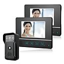 ราคาถูก ระบบ Video Door Phone-ภูเขาสาย sy813fkid11& amp; ลำโพงไร้สายในตัวขนาด 7 นิ้วแฮนด์ฟรีวิดีโอ doorphone หนึ่ง