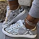 ราคาถูก รองเท้าผ้าใบผู้ชาย-สำหรับผู้ชาย รองเท้าสบาย ๆ PU ฤดูใบไม้ร่วง & ฤดูหนาว รองเท้าผ้าใบ สีน้ำตาล / สีดำและสีขาว / ฟ้า