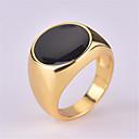 ราคาถูก แหวนผู้ชาย-สำหรับผู้ชาย วงแหวน แหวน 1pc สีทอง ทองแดง ชุบเงิน แก้ว Geometric Shape วินเทจ แฟชั่น ทุกวัน Street เครื่องประดับ สไตล์วินเทจ ล้ำค่า เท่ห์