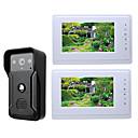 ราคาถูก ระบบ Video Door Phone-MOUNTAINONE SY819QA12 สาย มีลำโพงในตัว 7 inch Hands-free หนึ่งถึงอีกสองกริ่งวีดีโอประตูหน้าบ้าน