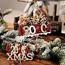 Χαμηλού Κόστους Γενέθλια-νέο έτος αλφάβητο σπίτι πλάκα Χριστούγεννα κούφια πόρτα διακόσμηση κρέμονται κρεμαστό κόσμημα Χριστουγεννιάτικα στολίδια ξύλινη κρέμονται
