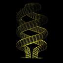 billige 3D Nattlamper-1 stk usb kraft abstrakt kunst 3d-lys fargerik berøringsgradientvisjon nattlys fargerik 3d akryl bordlampe