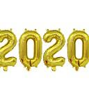 billige Julepynt-2020 folienummer ballonger for 2020 nyttårsaften festivalfest leverer gradering dekorasjoner
