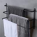 Χαμηλού Κόστους Ράβδοι για πετσέτες-πετσέτα μπαρ 3 βαθμίδα ανοξείδωτο χάλυβα πετσέτα ράφι τοίχο τοποθετημένο