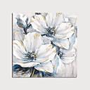 economico Quadri floreali-Hang-Dipinto ad olio Dipinta a mano - Floreale / Botanical Modern Include interno della montatura