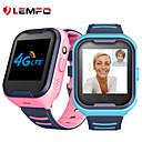 ราคาถูก Smartwatches-Lmfo g4h 4 กรัมเด็ก smart watch gps wifi ip67 กันน้ำ 650 มิลลิแอมป์ชั่วโมงแบตเตอรี่ขนาดใหญ่ 1.4 นิ้วกล้องแสดงผลใช้วิดีโอ s mart w atch เด็ก