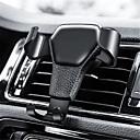 Χαμηλού Κόστους Σκίαστρα και ζελατίνες ηλίου αυτοκινήτου-βαρύτητα κάτοχος τηλεφώνου αυτοκινήτου για το τηλέφωνο στο αυτοκίνητο κλιματισμού κλιπ mount δεν μαγνητική υποστήριξη κινητού τηλεφώνου υποστήριξης κινητού τηλεφώνου stand for iphone gps