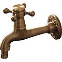 olcso Fürdőszobai kagyló csaptelep-Fürdőszoba mosogató csaptelep - Széleskörű Antik Szabadon álló Egy fogantyú egy lyukkalBath Taps