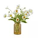 olcso Művirágok-művirágok 10 ágú klasszikus rusztikus egyszerű stílusú mák