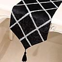 Χαμηλού Κόστους Τραπεζομάντιλα-Καθημερινό πολυεστερικές ίνες Τετράγωνο Σεμέδες Κέντημα Επιτραπέζια διακοσμητικά