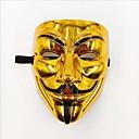 Χαμηλού Κόστους Μάσκες-Αποκριάτικες Μάσκες Θέμα τρόμου Πλαστική ύλη V for Vendetta Ενηλίκων Παιχνίδια Δώρο