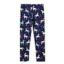 billige Bukser og tights til jenter-Barn Jente Trykt mønster Bukser Navyblå