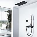 billiga Duschkranar-Duschkran - Nutida Målad Finishes Väggmontering Keramisk Ventil Bath Shower Mixer Taps
