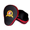 Χαμηλού Κόστους Γάντια του μποξ-Πυγμαχία και Πολεμικές Τέχνες Pad Γάντια για γροθιές Για Πυγμαχία Sanda επαγγελματικό Επίπεδο Απόσβεση Ταχύτητα Πορτοκαλί Μαύρο-Κόκκινο