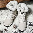 ราคาถูก รองเท้าสโนว์บูตปีนเขา-สำหรับผู้หญิง รองเท้าบู้ทใส่สำหรับหิมะ Winter Boots ยาง หนังสังเคราะห์ กีฬาหิมะ กีฬาฤดูหนาว กันลม Warm ป้องกันการลื่นล้ม ฤดูหนาว