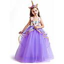 Χαμηλού Κόστους Ψηφιακά πολύμετρα & παλμογράφοι-Unicorn Φορέματα Στολές Ηρώων Χορός μεταμφιεσμένων Κοριτσίστικα Στολές Ηρώων Ταινιών Στολές Ηρώων Halloween Βυσσινί / Μπλε / Ροζ Φόρεμα Halloween Η Μέρα των Παιδιών Μασκάρεμα Μείγμα Πολυ / Βαμβακιού