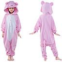 ราคาถูก ชุดนอน Kigurumi-สำหรับเด็ก Kigurumi Pajama Piggy / Pig Onesie Pajama Polar Fleece สีชมพู คอสเพลย์ สำหรับ เด็กชายและเด็กหญิง สัตว์ชุดนอน การ์ตูน Festival / Holiday เครื่องแต่งกาย