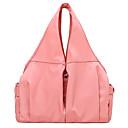 Χαμηλού Κόστους Τσάντες Tote-Γυναικεία Φερμουάρ Oxford Πανί Τσάντα χειρός Συμπαγές Χρώμα Μαύρο / Κόκκινο Καρπουζιού και / Ανθισμένο Ροζ