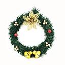 olcso Karácsonyi dekoráció-Ünnepi Dekoráció Karácsonyi dekoráció Karácsonyi díszek Dekoratív Arany / Ezüst / Piros 1db