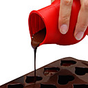 ราคาถูก เครื่องมือการอบและการทำขนม-1 ชิ้นซิลิกาเจลสร้างสรรค์ครัว g adget สำหรับช็อคโกแลตภาชนะปรุงอาหารครัวรอบเค้กแม่พิมพ์ภาชนะเครื่องมือ
