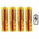 baratos Kits de vapor-Bateria Emissores Recarregável Emergência Trabalhar Lanterna Bike Light Acampar e Caminhar Caça Pesca 4pçs