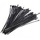 billige Andre håndverktøy-100stk nylonkabel selvlåsende zip-bånd av plasttråd satt industriforsyningsenhetens maskinvarekabel