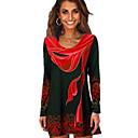 Χαμηλού Κόστους Ρούχα χορού λάτιν-Γυναικεία T-shirt Γεωμετρικό Θαλασσί