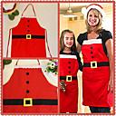 olcso Karácsonyi dekoráció-karácsonyi dekoráció kötény konyhai kötények karácsonyi vacsora party kötény santa karácsonyi konyhai kötény