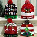 olcso Karácsonyi dekoráció-vezetett karácsonyi kalap Mikulás rénszarvas hóember kalapok újévi karácsonyi ajándékok sapka otthon dekoráció