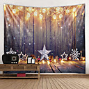 billige Wall Tapestries-Klassisk Tema Veggdekor 100% Polyester Klassisk / Moderne Veggkunst, Veggtepper Dekorasjon