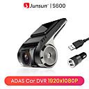 ราคาถูก กล้องติดรถยนต์-Junsun s600 android เครื่องเล่นวิทยุมัลติมีเดียพร้อม adas car dvr camerd dash cam