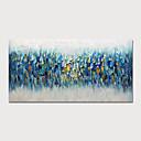 Χαμηλού Κόστους Αφηρημένοι Πίνακες-Hang-ζωγραφισμένα ελαιογραφία Ζωγραφισμένα στο χέρι - Αφηρημένο Τοπίο Μοντέρνα Περιλαμβάνει εσωτερικό πλαίσιο