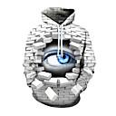 Χαμηλού Κόστους Ρούχα για σκύλους-Dragon Ball Στολές Ηρώων Οι Pink Floyd Πλεκτό&Cutsew Φούτερ με Κουκούλα 100% Πολυέστερ 3D Για Ανδρικά / Γυναικεία