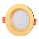 baratos Luzes de Foco-1pç 10 W 900 lm 12 Contas LED Alto-falante Bluetooth Regulável Instalação Fácil Downlight de LED Mudança RGB + quente RGB + Branco 100-240 V Comercial Lar / Escritório Sala de Estar / Jantar Dia Das