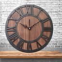 olcso Fali órák-retro néma falióra, csendes vintage nagy függő óra kreatív ipari szél dekorációs fal matrica nappali hálószoba otthon