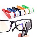 baratos Materiais de Limpeza-5 pcs óculos óculos limpador escova de microfibra óculos limpador ferramenta de limpeza escova cor aleatória