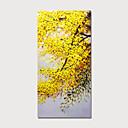 abordables Peintures à Fleurs / Botaniques-Peinture à l'huile Hang-peint Peint à la main - A fleurs / Botanique Moderne Inclure cadre intérieur