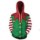 povoljno Santa odijela & Božićna haljina-Muškarci Ulični šik / Božić Hoodie Print / Ptica