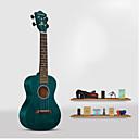 billiga Ukuleler-21-tums ggradient blå ukulele
