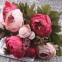olcso Művirágok-Művirágok 1 Ág Klasszikus Modern Bazsarózsák Virágdekoráció