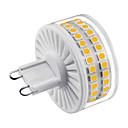 ราคาถูก หลอดไฟ-1set 8 W หลอด LED รูปข้าวโพด หลอดเสียบคู่ LED 800 lm G9 T 90 ลูกปัด LED SMD 2835 น่ารัก Creative หรี่แสงได้ ขาวนวล White 220-240 V