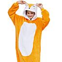 ราคาถูก ชุดนอน Kigurumi-ผู้ใหญ่ Kigurumi Pajama Fox Onesie Pajama ผ้าสักหลาด ส้ม คอสเพลย์ สำหรับ ผู้ชายและผู้หญิง สัตว์ชุดนอน การ์ตูน Festival / Holiday เครื่องแต่งกาย
