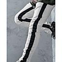 Χαμηλού Κόστους Αντρικά Αθλητικά Παπούτσια-Ανδρικά Κομψό στυλ street Αθλητικές Φόρμες Παντελόνι - Στάμπα Μαύρο Λευκό Ρουμπίνι US42 / UK42 / EU50 US44 / UK44 / EU52 US46 / UK46 / EU54