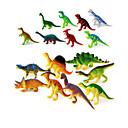 billiga Moderingar-Drakar och dinousaurier Triceratops Dinosaurfigurer Jurassic Dinosaur Plast Klassisk & Tidlös Barn Pojkar Flickor Leksaker Present