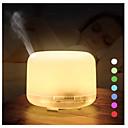 billige Miksere-500 ml ultralyd luftfukter aroma essensiell olje diffusor aromaterapi hmidificador 7 fargeendring led nattlys for hjemmet