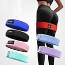 ราคาถูก เครื่องออกกำลังกายและอุปกรณ์ออกกำลังกาย-AOLIKES Hip Trainer Exercise Resistance Bands 1 pcs กีฬา ผ้าฝ้าย โยคะ Pilates ฟิตเนส ทนทาน Support Butt Lift สำหรับ ผู้ชาย ผู้หญิง