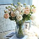 Χαμηλού Κόστους Ψεύτικα Λουλούδια & Βάζα-όμορφη παιωνία τεχνητά λουλούδια μετάξι μικρό μπουκέτο κόμμα άνοιξη γάμου διακόσμηση ψεύτικο λουλούδι
